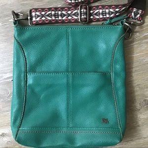 The Sak Leather Boho Strap Crossbody Bag
